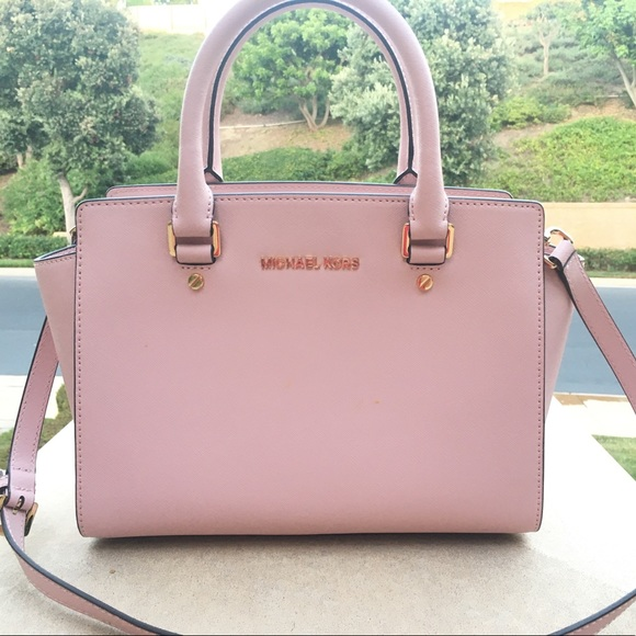 cf3df75d823c13 Michael Kors Bags   Soft Pink Medium Selma Bag   Poshmark